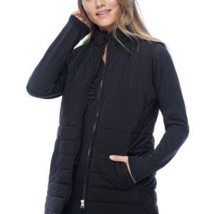 I Move by FDJ quilted vest